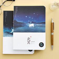 Night Ocean Notebook Blank Sketchbook Paper Drawing Travel Writing Diary Journal
