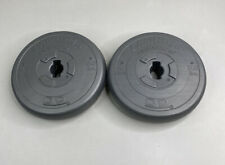 (2) 8.8lb Orbatron Challenger Plastic Weight Plates
