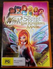 Winx Club - The Secret Of The Lost Kingdom (DVD, 2012) PRE OWNED PAL 4