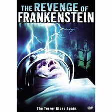 THE REVENGE OF FRANKENSTEIN (DVD, WIDESCREEN) *NEW* Peter Cushing