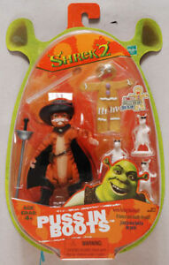HASBRO Shrek Puss En Boots Chat Avec Bottes Figurine Neuf New