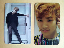 """SHINEE """"The First"""" & """"Romeo"""" Photo Card from Fan Site, unofficial /Thin - KEY"""
