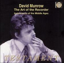 NEW Art of the Recorder (Audio CD)