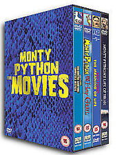 Monty Python: The Movies (4 Disc Box Set) [DVD], Acceptable, DVD, FREE & FAST De
