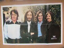 THE BEATLES ORIGINAL 1969 U.K. FAN CLUB POSTER