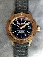 Obris Morgan NAUTILUS Bronze Automatic Men's Watch - 41mm case