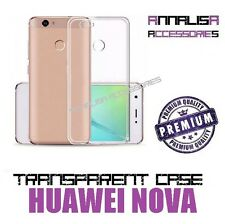 COVER TRASPARENTE PER HUAWEI NOVA CUSTODIA CASE TRANSPARENT SILICONE 0,3mm TPU
