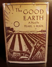 Pearl S. Buck The Good Earth 1931 First Edition 1st Printing Dust Jacket RARE