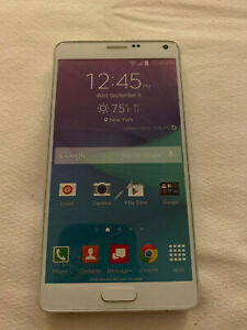 Samsung Galaxy Note 4 Dummy Display Sample Model PhoneVerizon 4G LTE