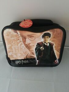 Harry Potter Reusable Insulated Lunch Bag with Thermos And Sandwich Keeper NWT