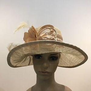 Ladies Women Elegant Organza Formal Race Wedding Hat Xams Birthday Gift H127