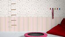 EUR 2,30/qm / Tapete Esprit Kid´s 302891 Schmetterlinge Rosa AS Creation 302891
