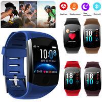 TouchScreen Bluetooth Smart Watch Sports Wrist Band For Huawei P30 Pro P20 Mate