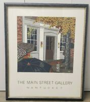 DONN RUSSELL NANTUCKET ART GALLERY LITHOGRAPH LIMITED EDITION 6/50