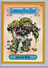GARBAGE PAIL KIDS CHROME SERIES 2 GPK GOLD REFRACTOR SEWER SUE 79A 31/50