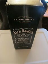 JACK DANIELS, EMPTY & BOXED - 3 LITRE DISPLAY BOTTLE WITH SEAL