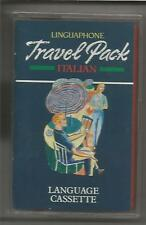 ITALIAN; Linguaphone Italian Travel Pack - CASSETTE