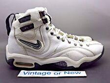 VTG Nike Air Alonzo White Black Varsity Red Mourning 1997 sz 10