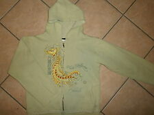 PLANET HOLLYWOOD HOODIE Chinese Asian Lettering Bird Tail Orlando Flawed JUNIORS