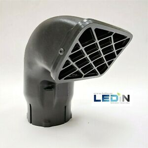 """Universal Fit Ram Inlet Intake Snorkel Head 3.5"""" Inner Diameter Off Road 4x4 New"""