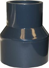 """NEW SCH 80 PVC 1-1/2"""" X 1"""" (BELL) REDUCING COUPLING SOCKET CONNECT"""