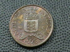 NETHERLANDS  ANTILLES  1  Cent  1973   ,   $ 2.99  maximum  shipping  in  USA