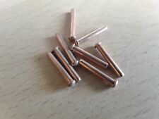 7/64 (2.4mm) x 11/16 (17.5mm) TESTA ROTONDA IN RAME RIVETTO Qtà 8