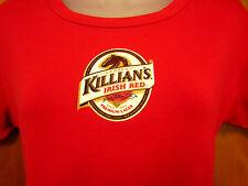 KILLIANs IRISH RED logo juniors lrg Irish T shirt beer Celtic ale baby-doll tee