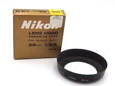 Nikon  Lens Hood Screw-in Type for Nikkor Auto 28mm f/3.5