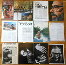 FRANCIS FORD COPPOLA 1970s/00s spain magazine articles clippings cinema director