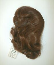 Vintage IMSCO Med Long Wavy Red/Auburn Doll Wig Bangs Size 15 *OSS *New w/ Tag