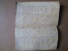 DOC MS 1669 : VENTES FIEFS ST GERMAIN SUR MOINE (Maine et Loire)
