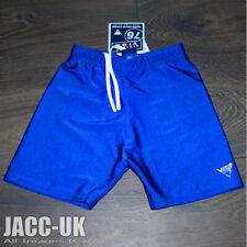 "New XS Mens Boys 26-28"" Blue Lycra VIGA Swim Cycle Shorts Trunks Jammer RUN.503"