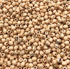 LEGO LOT OF 50 NEW FLESH COLORED MINIFIGURE MINIFIG HEADS STAR WARS MORE