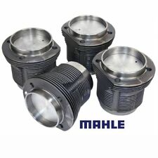 VW Air Cooled 1641cc Mahle Cast Pistons & Cylinders, 87MM x 69MM, Set Of 4
