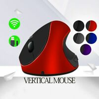 Vertical Mice Wireless Mouse Ergonomic Rechargeable For Computer PC Laptop