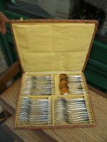 Couverts Art Déco Charles Christofle en Argent Plaqué Silver Silber 48 Pièces