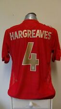 England Away Football Shirt Jersey 2005-2007 HARGREAVES 4 XL