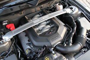 2011-2014 Ford Mustang GT 5.0 OEM Engine Strut Tower Brace Bar w/ GT emblem