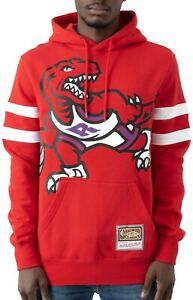 Men's Mitchell & Ness Red/Purple NBA Toronto Raptors Substantial Fleece Hoodie