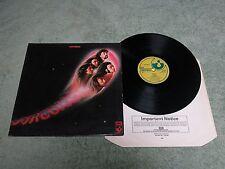 DEEP PURPLE fireball HARVEST LP Reissue A-2U/B-5 textured sleeve + EMI i/s SHVL