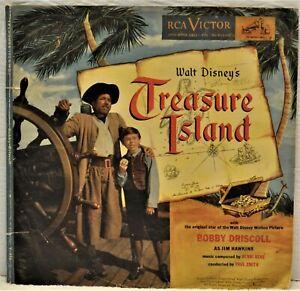 WALT DISNEY'S TREASURE ISLAND 2 Disk 78 RPM Album RCA Victor Y-416