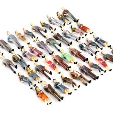 100 Model People Figures Passenegers 1 50 O Scale Train Scenery Mixed Pose Color