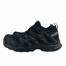 Original Salomon XA Pro 3D Hiking Trail Men's Running Shoes - Black Grey 356801