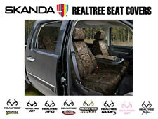 Coverking Solid Realtree Camo Tailored Front Seat Covers for Toyota Tundra