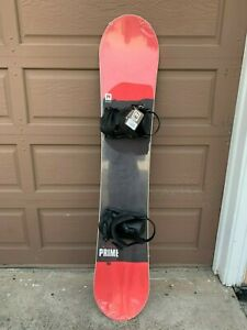 2020 NEW Nitro Prime Screen Snowboard Deck With Nitro Rambler Bindings -- 155