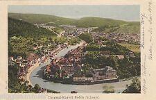 Baden Aargau AK 1902 Panorama Schweiz Suisse Svizzera 1603386