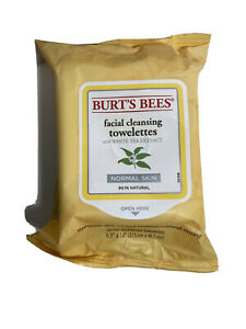 Burt's Bees Facial Cleansing Towelettes White Tea Extract 30 in each  B3