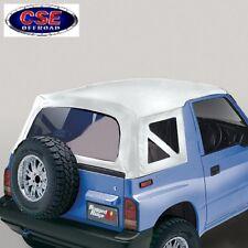 Soft Top White Denim Clear Window Suzuki Sidekick 95-1998 53703.52 Rugged Ridge