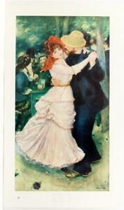 1949 PIERRE AUGUSTE RENOIR Dancing Couple post impressionism LITHOGRAPH #387T